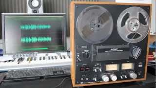 getlinkyoutube.com-Sony TC-399 Reel-to-Reel Recorder RARE Live Aid 1985 Complete Stereo Recording