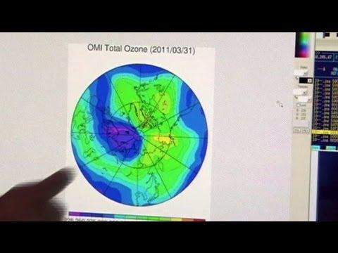 El Ártico también tiene un agujero inmenso en la capa de ozono