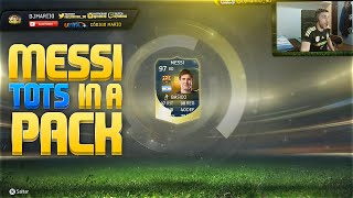 FIFA 15 | MESSI TOTS 97 IN A PACK !!!!! Ultimate Team | DjMaRiiO