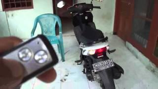 getlinkyoutube.com-Menyalakan Motor Dengan Remote Mobil