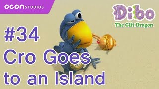 getlinkyoutube.com-[OCON] Dibo the Gift Dragon _Ep34 Cro Goes to an Island( Eng dub)