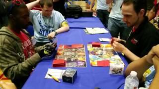getlinkyoutube.com-New York Springfest 2015 Buddyfight Final Round (Darkness Dragon World Vs Dragon World) Part 1