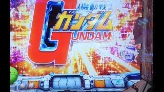 getlinkyoutube.com-CR機動戦士ガンダム 赤保留変化からグフとの死闘!