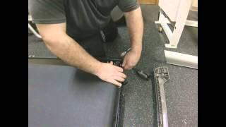 getlinkyoutube.com-Treadmill Walking Belt Installation Video by Treadmill Doctor