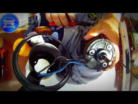 Part 1 Repair HEATER FAN MOTOR BLOWER MOTOR chrysler voyager Ремонт вентилятора печки часть 1