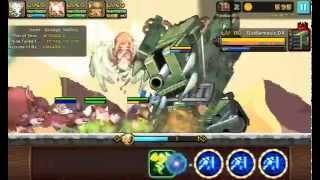 getlinkyoutube.com-Crusaders Quest - Tundra 1-30 Hard - NO ATK BUFF STACKED  (Thor 9Tails Nazru)