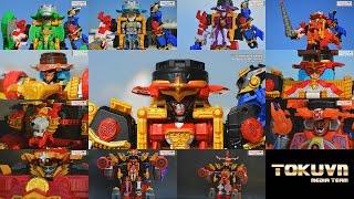 getlinkyoutube.com-All DX Gattai Shuriken Sentai Ninninger 2015! DX 手裏剣戦隊ニンニンジャー! Power Rangers Ninja Steel!