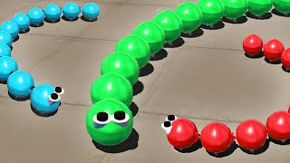 getlinkyoutube.com-SLITHER.IO IN 3D GAME! (Simple Planes)