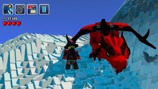 getlinkyoutube.com-Probando El MINECRAFT de LEGO | LEGO Worlds en DIRECTO