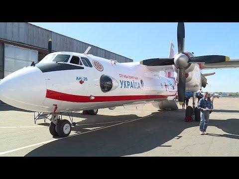 ГосЧС получила самолет АН-26 медицинского назначения.