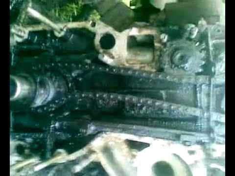 Замена переднего сальника москвич 2140 часть1