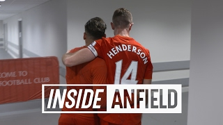 getlinkyoutube.com-Inside Anfield: LFC v Spurs | Tunnel Cam featuring Homeland star Damian Lewis