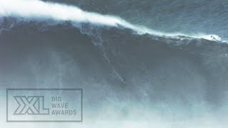 getlinkyoutube.com-Benjamin Sanchis at Nazare - 2015 Wipeout of the Year Entry - XXL Big Wave Awards