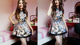 getlinkyoutube.com-Vestido aliexpress