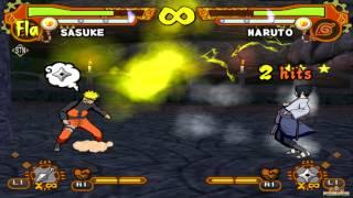 getlinkyoutube.com-Naruto Shippuden: Ultimate Ninja 5 HD - Naruto vs Sasuke (60fps 1080p)
