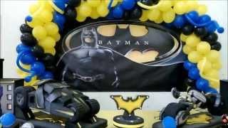 getlinkyoutube.com-Decoração do Batman Big Festa sjp