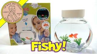 getlinkyoutube.com-Fincredibles Electronic Pet Fish - Swims Like The Real Thing! Bonus Hex Bug Aqua-Bot Shark!