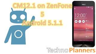 getlinkyoutube.com-Install CM 12.1 CyanogenMod Lollipop Rom On Zenfone 5 - How To