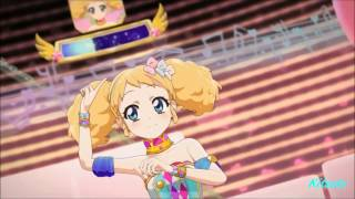 getlinkyoutube.com-【HD】Aikatsu! - episode 55 - Kii - Calendar girl - with changing
