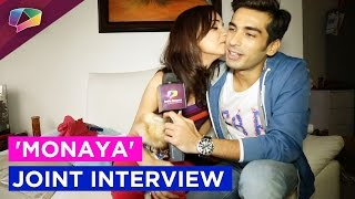 getlinkyoutube.com-#Exclusive : 'MoNaya' Mohit Sehgal and Sanaya Irani joint Interview