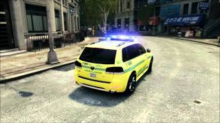 getlinkyoutube.com-GTAIV VW Touareg R50 Medical Assistant