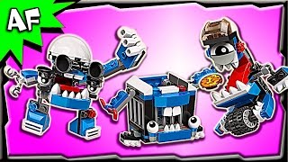 getlinkyoutube.com-Lego Mixels MCPD Series 7 Kuffs, Busto, Tiketz Build Review 41554, 41555, 41556