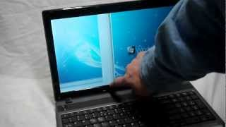 getlinkyoutube.com-Laptop screen replacement / How to replace laptop screen Acer Aspire 5733 - 6437