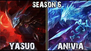 getlinkyoutube.com-Best Yasuo Korea vs Anivia MID Ranked Challenger