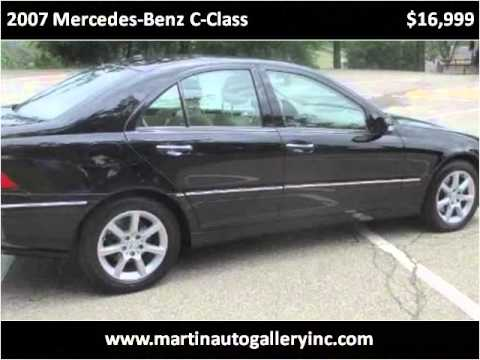 2007 Mercedes-Benz C-Class Used Cars Pittsburg PA