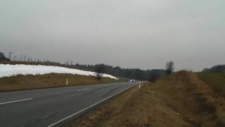 E 55 AMG with Kleemann 55-K2 tuning, passing