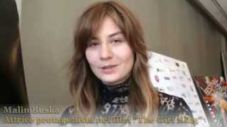 "getlinkyoutube.com-Montreal 39 - Malin Buska attrice protagonista nel film ""The Girl King"""