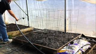getlinkyoutube.com-Spring Planting In The Greenhouse