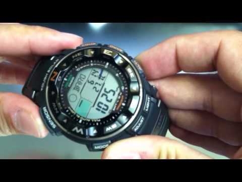 Casio Pathfinder Protrek Solar Power Watch PRG-250-1
