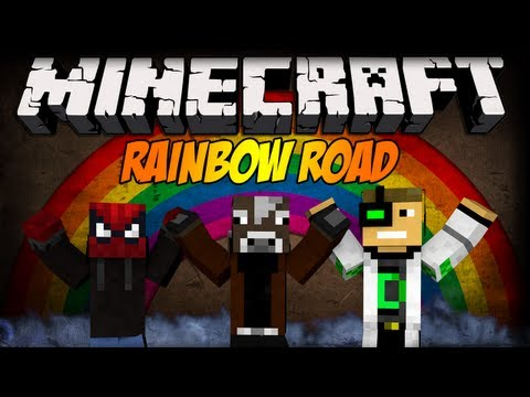 Minecraft: Blow i tak lepszy! - Rainbow Road w/ Blow, iDelti