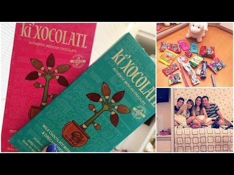 Chocolate de Orégano,pirulito salgado, pimenta = Experimentando comidas do MÉXICO