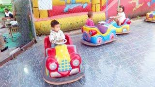 getlinkyoutube.com-Em tập lái ô tô -nhạc thiếu nhi 2015-kids cars