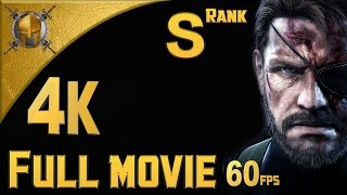 getlinkyoutube.com-Metal Gear Solid V : Ground Zeroes - Full Movie [4K][980 Ti Classified] (S Rank Gameplay) [4K 60fps]