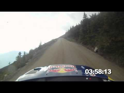 FULL RUN - Travis Pastrana's rally hillclimb up Mt. Washington