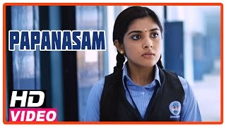 getlinkyoutube.com-Papanasam Tamil Movie | Scenes | Police questioning Nivedha at her school