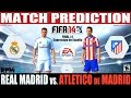 FIFA 14: Real Madrid vs Atlético de Madrid Match Prediction Final Supercopa España