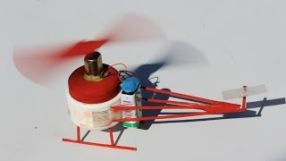 getlinkyoutube.com-How to make a Helicopter - DC Motor Electric Helicopter - EASY!!