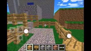 getlinkyoutube.com-Minecraft PE - Tour of my town