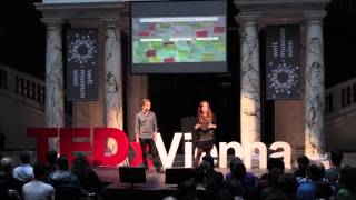 City 2.0 in wonderland—activate and involve: Daniela Patti & Levente Polyak at TEDxVienna