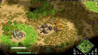 getlinkyoutube.com-Age of Mythology Hellsravage(Ra) vs Nyanracingcat(Gaia) on Megalopolis
