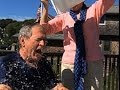 Pres. George W. Bush Takes Ice Bucket Challenge