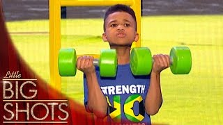 Is This Child Stronger Than You? | Little Big Shots