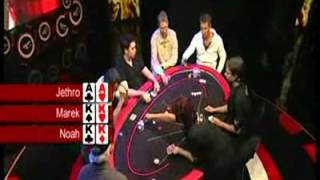 getlinkyoutube.com-Amazing Poker Hand - AA vs KK vs KK