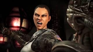 getlinkyoutube.com-Mortal Kombat X ALL Fatalities On Alien Fatality Gameplay