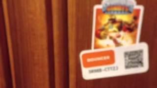 getlinkyoutube.com-My skylander collection plus 4 codes