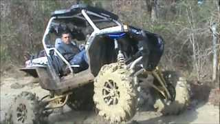 "getlinkyoutube.com-LMP- 8"" SLC lifted RZR 900 and 5"" CATVOS lifted RZR 800-Skrillex-Bangarang"